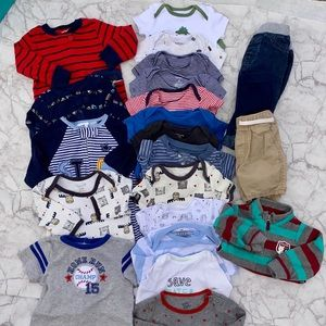 Baby Boy Clothes Bundle 6 Months